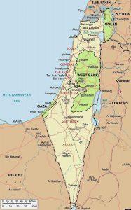 1. Kaart Israel