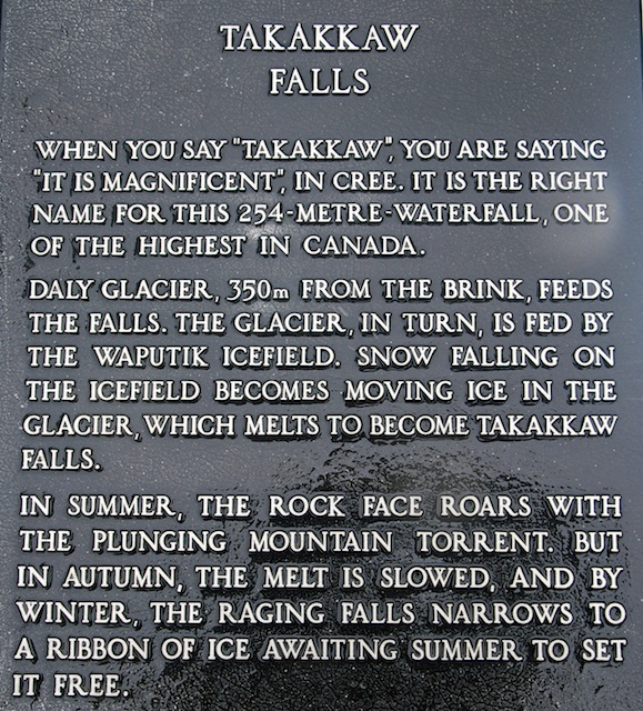 808. Takakkaw Falls