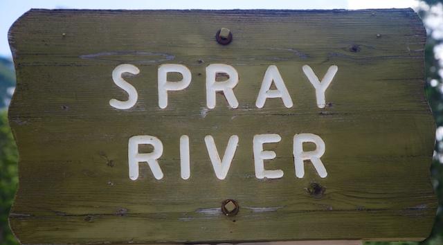 839. Spray river