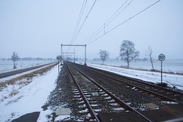 23. Spoorlijn