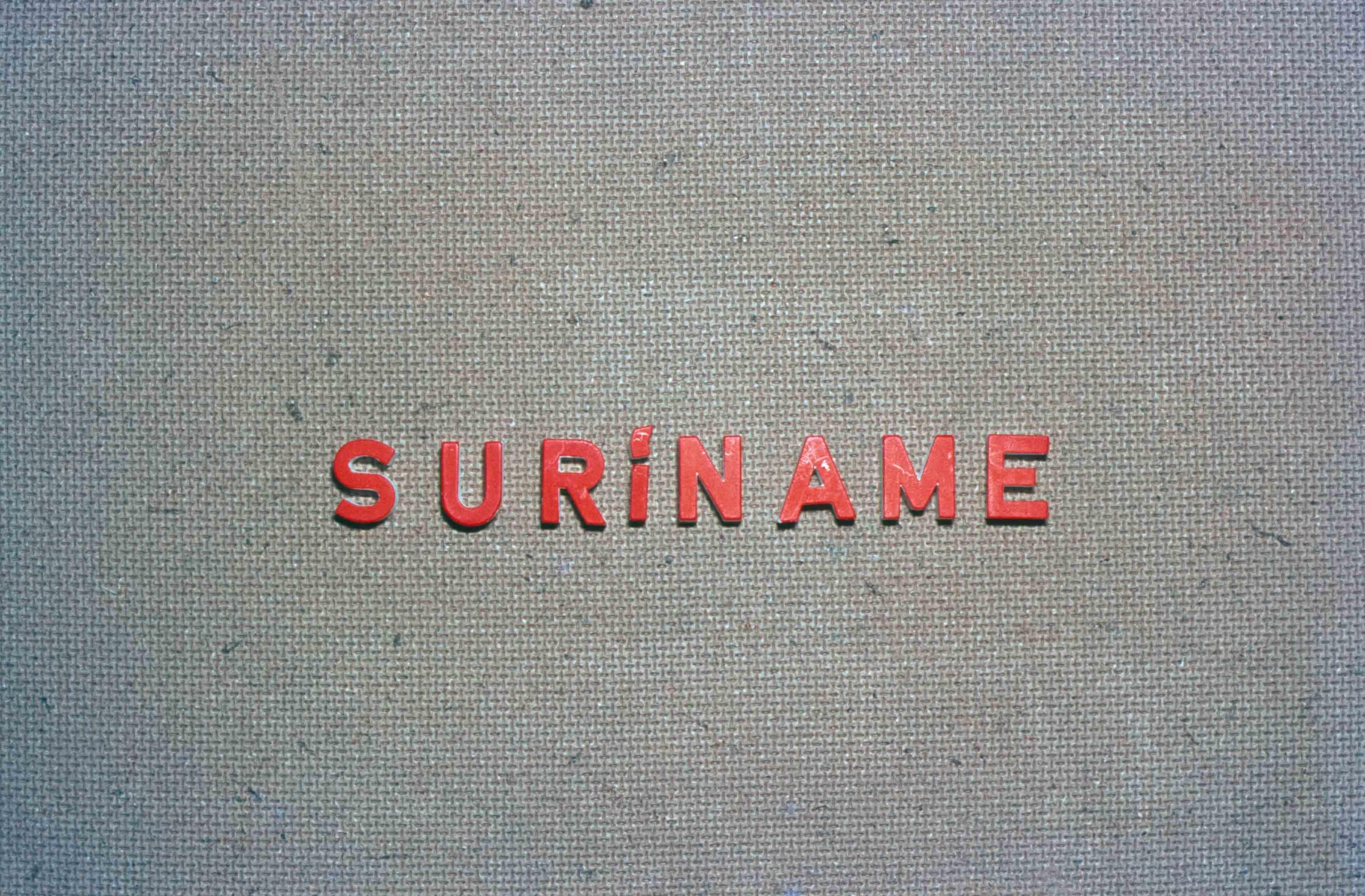 50. Suriname