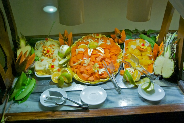 315. Saladebuffet