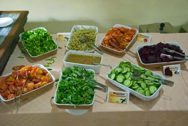 317. Saladebuffet