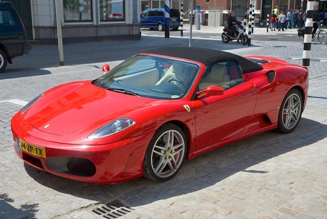 03. Ferrari F430 Spider