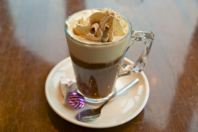 130. Irish coffee