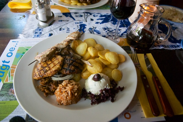 36. Mixed grill