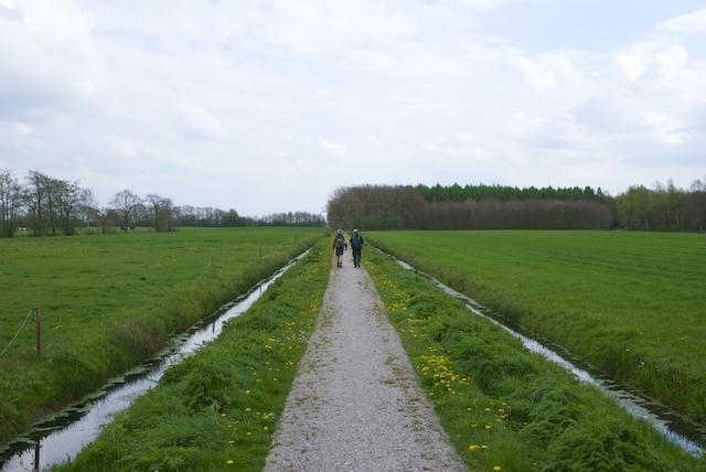 74. Open landschap