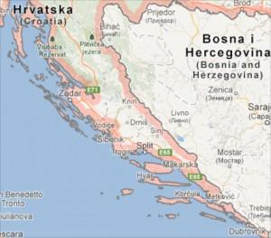 1. Schermafbeelding Kroatie