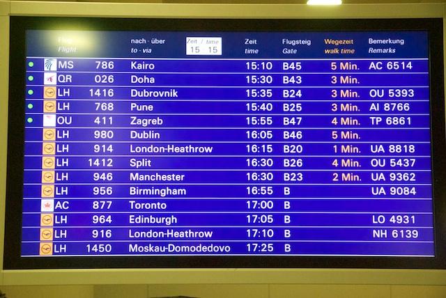 17. Departures