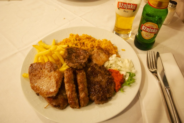 28. Mixed grill