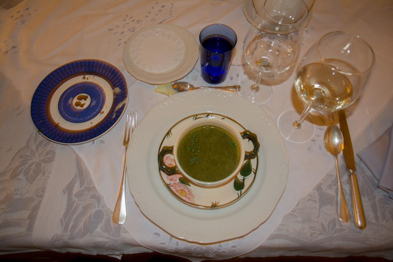 16. Spinazie soep