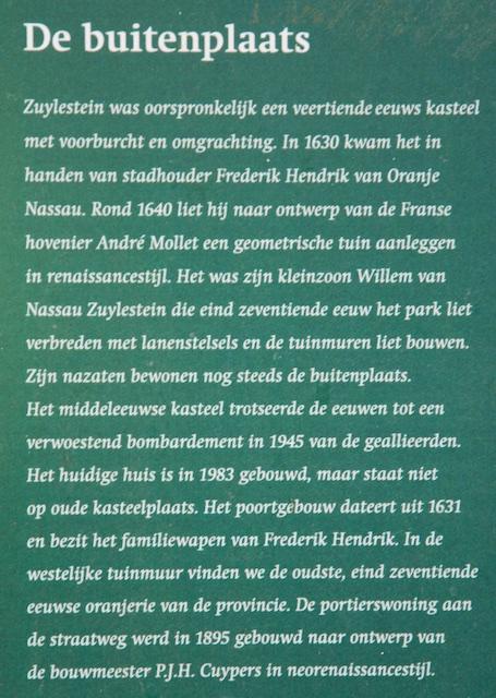 54. Info Zuylestein