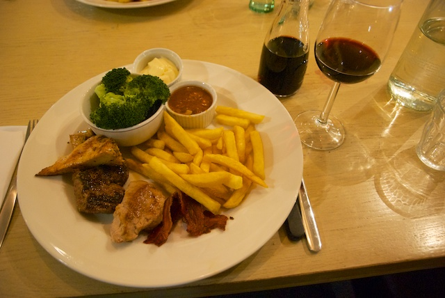 32. Mixed grill
