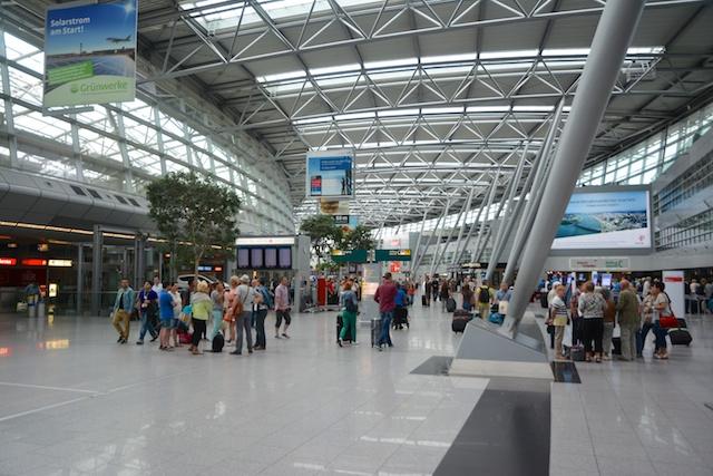 8. Dusseldorf airport
