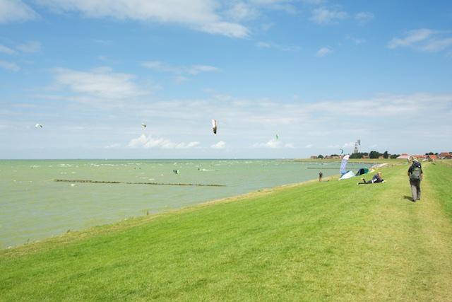22. Kitesurfen