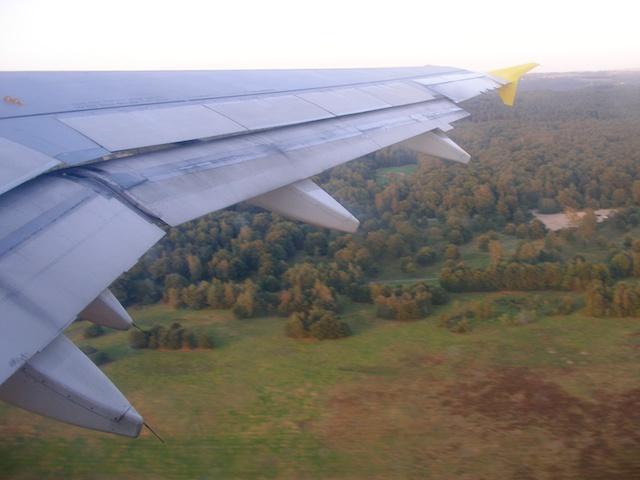 6. Take off