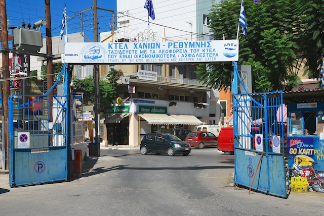 13. Poort busstation