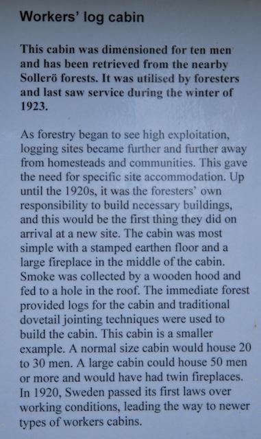87. Log cabin