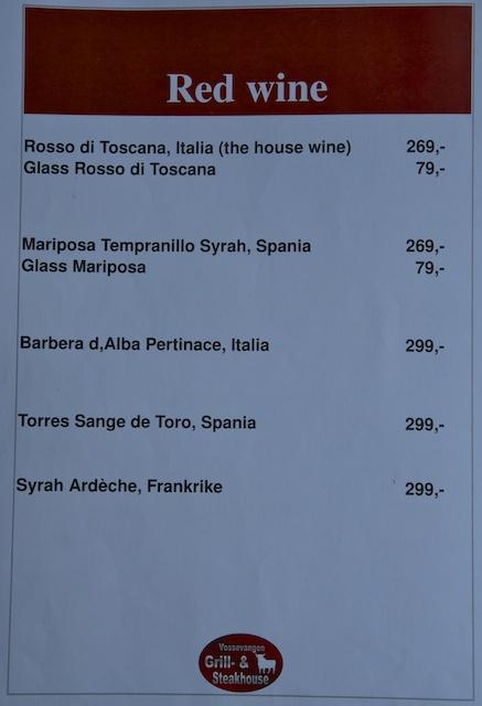 895. Wijnkaart
