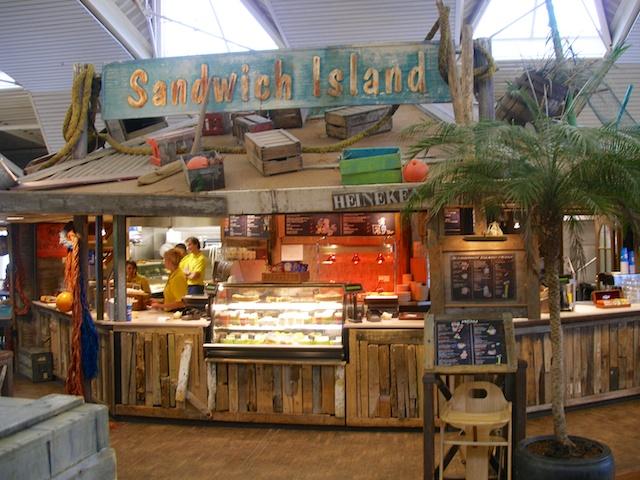 1. Sandwich island